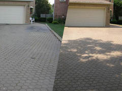 Pavers cleaning service